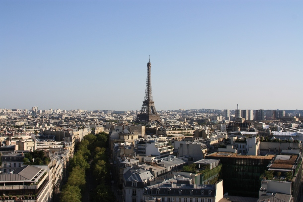 view-from-the-arc-de-triomphe
