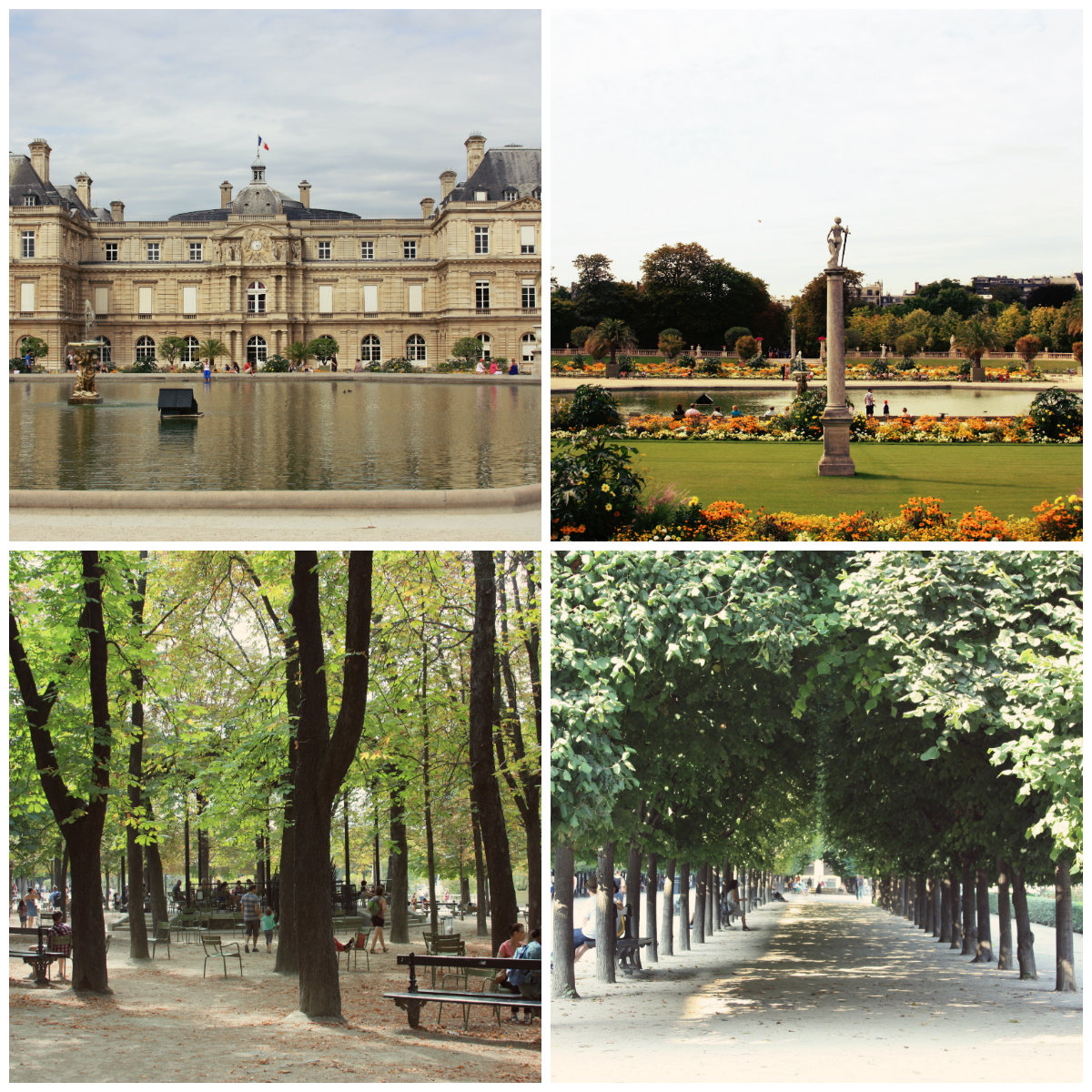 One week in paris suggested itinerary day 3 jet for Jardin luxembourg