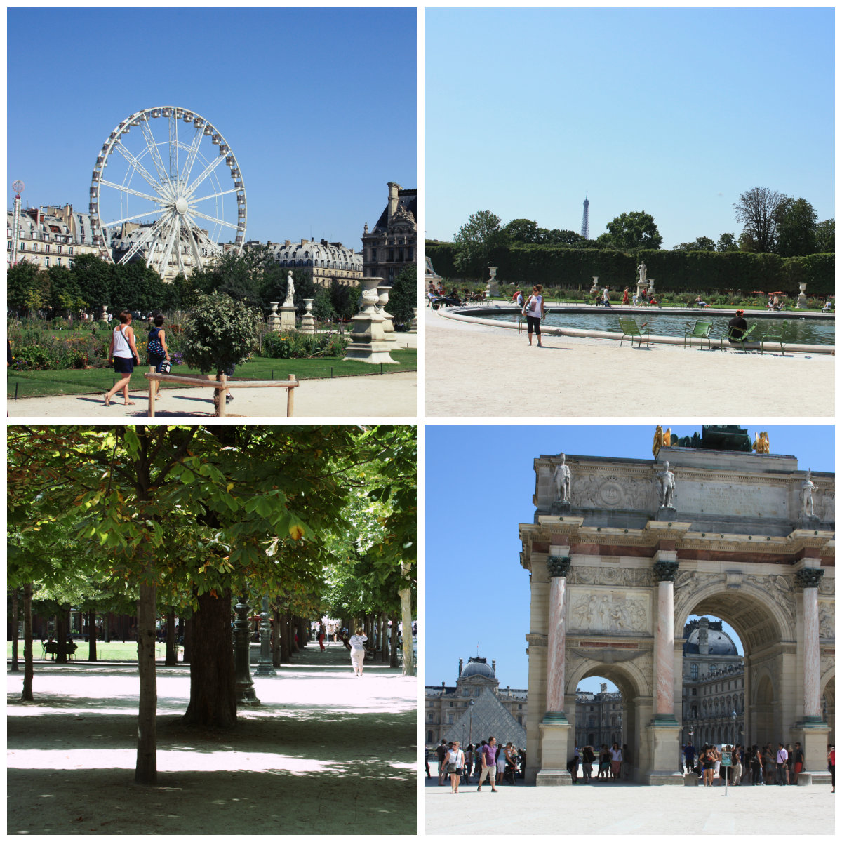 One week in paris suggested itinerary day 1 jet for Paris tuileries