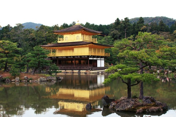 Kinkaku-ji_temple_Japan
